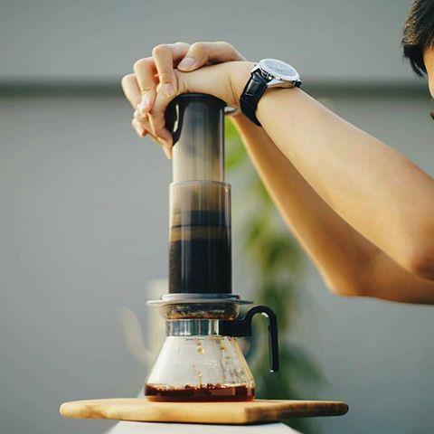طریقه دم آوری قهوه اروپرس